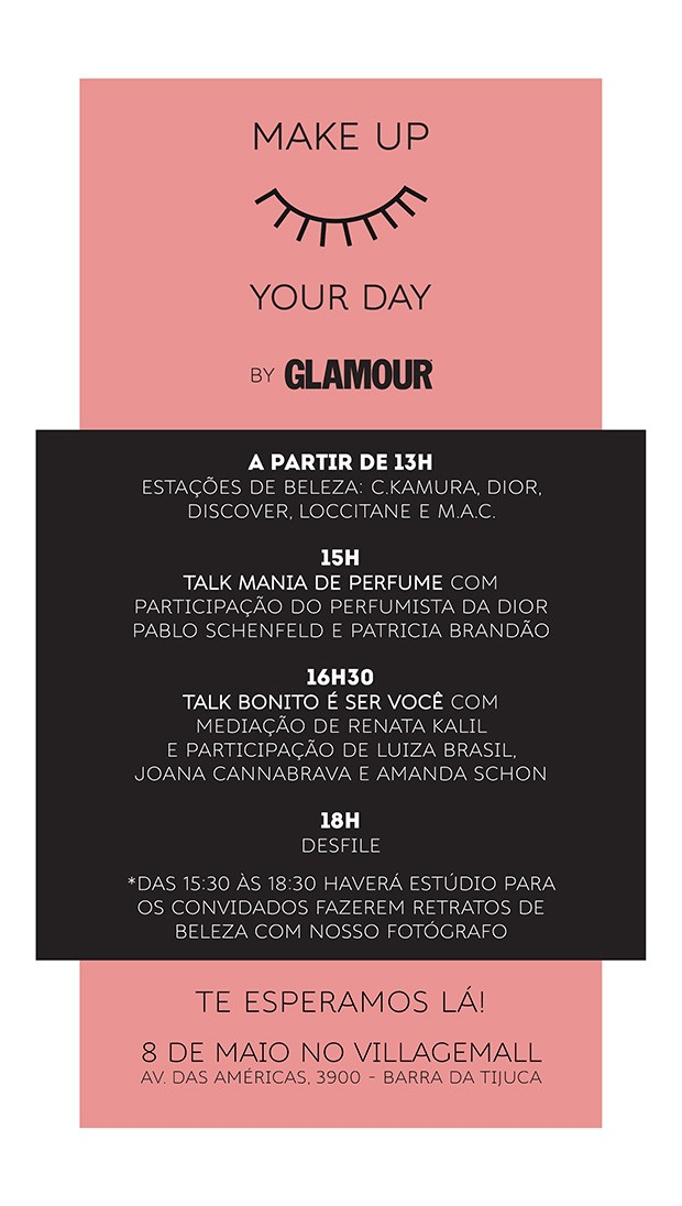 Make up your day (Foto: Divulgação)