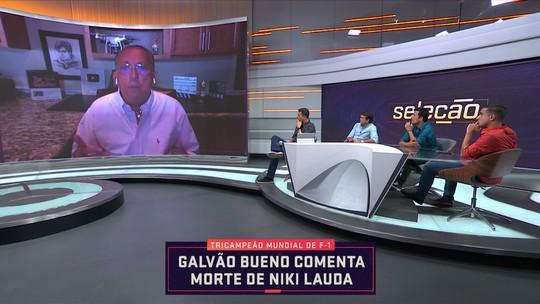Em participação no Seleção, Galvão Bueno fala sobre a morte de Niki Lauda