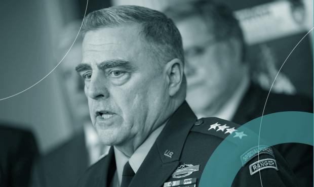 """Chefe do Estado-Maior das Forças Armadas americanas,  Mark Milley: em novembro, general alertou que militares dos EUA """"não seguem nenhum tirano"""""""