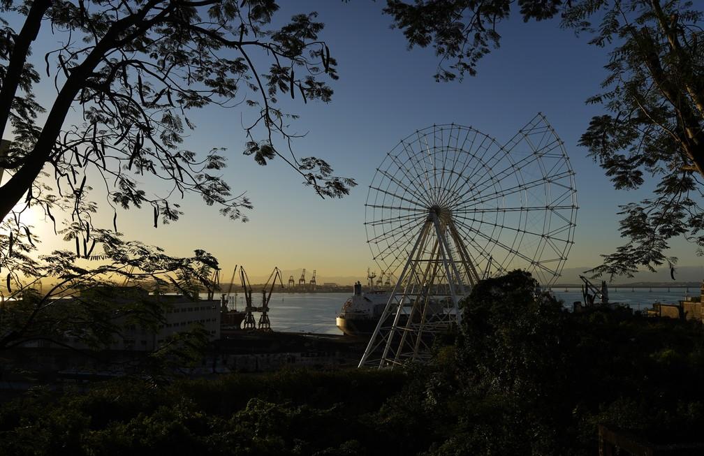Roda-gigante no Rio — Foto: Marcos Serra Lima/G1