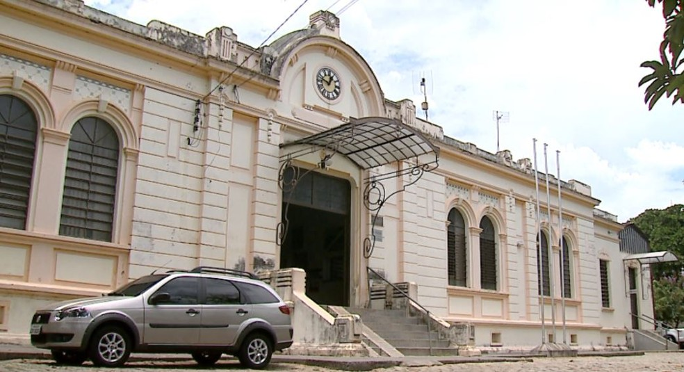 Prefeitura de Ribeirão Bonito (Foto: Felipe Lazzarotto/ EPTV)