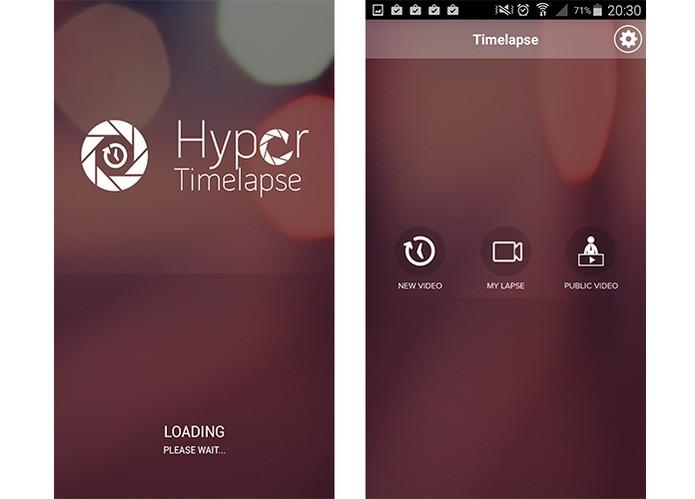 Hyper Timalapse permite ativação de flash e HDR (Foto: Reprodução/Barbara Mannara))