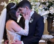 Zé Vaqueiro e Ingra Soares se casam após dois anos juntos