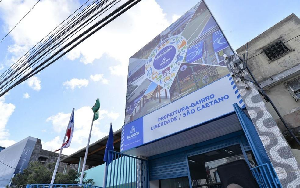 Prefeitura-Bairro da Liberdade está localizada no Curuzu (Foto: Max Haack)