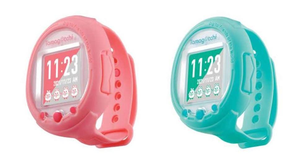 Tamagotchi, febre nos anos 1990, ganha versão em formato smartwatch — Foto: Reprodução/Bandai