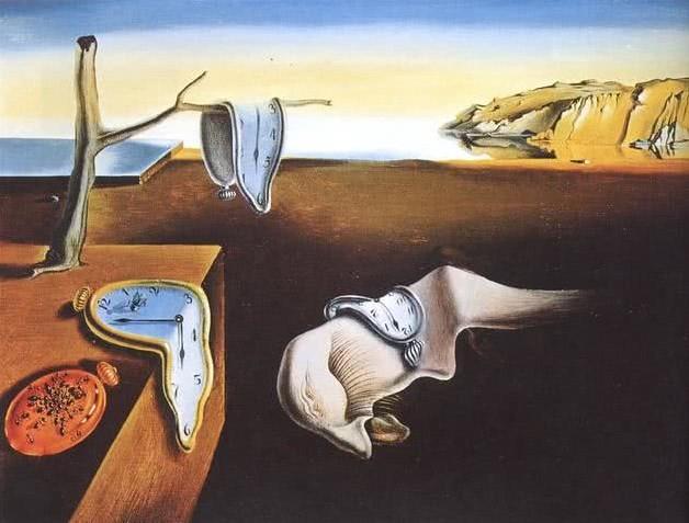 'A persistência da memória' é uma das obras mais conhecidas de Dali