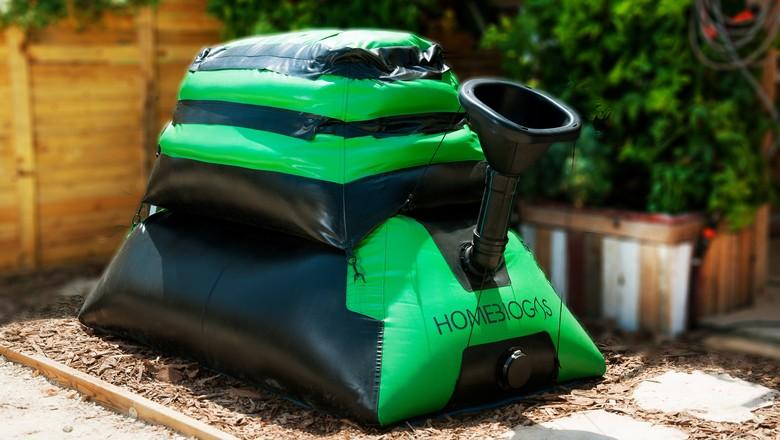 homebiogas-lixoorgânico-reciclagem-energia (Foto: Divulgação/HomeBiogas)
