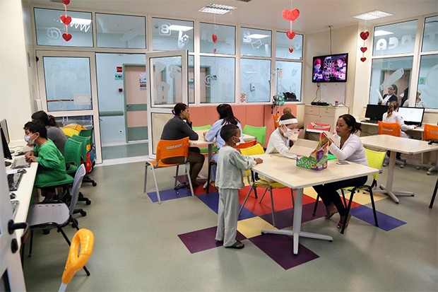 Foto do ITACI - Instituto de Tratamento do Câncer Infantil (Foto: Divulgação)
