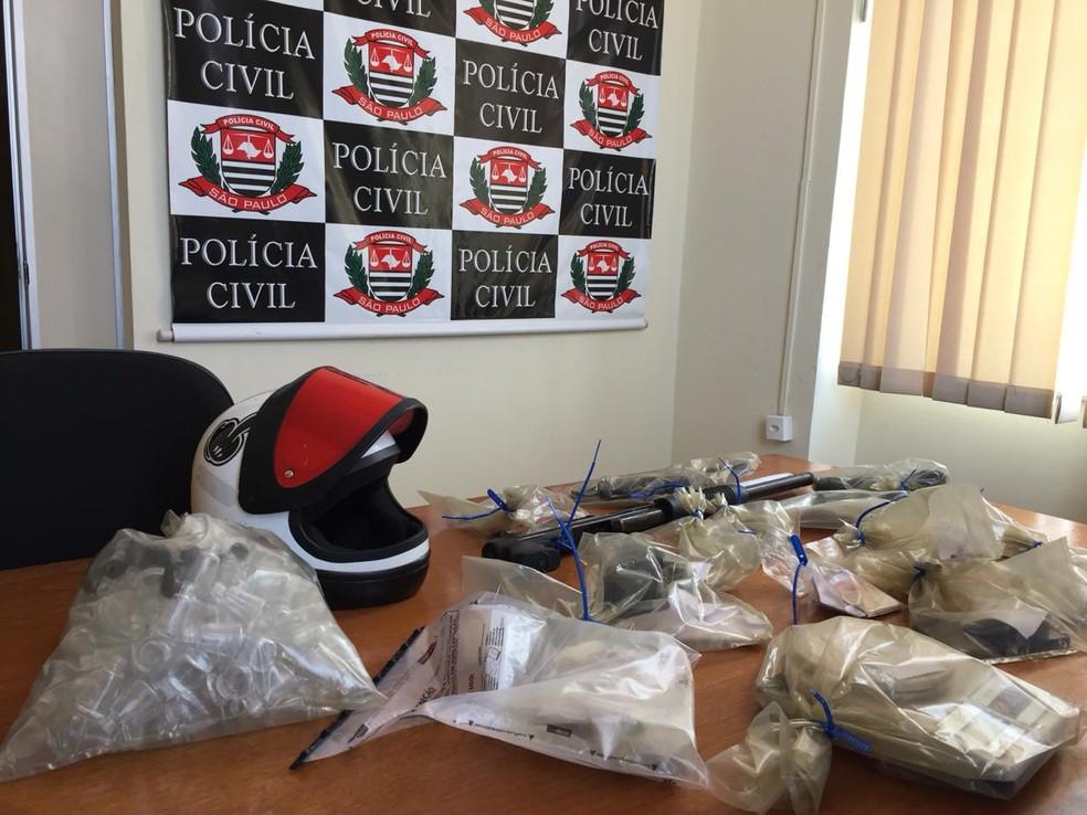 Funcionário de supermercado é preso após tentar matar chefe a tiros em Jacareí — Foto: Laurene Santos/ TV Vanguarda