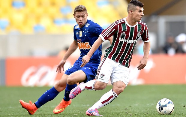 Marlone e Wagner, Fluminense X Cruzeiro (Foto: Getty Images)