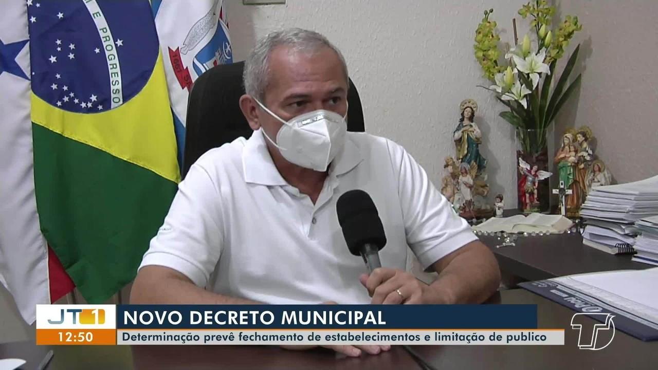 Prefeitura de Santarém publica novo decreto com regras mais rígidas; confira