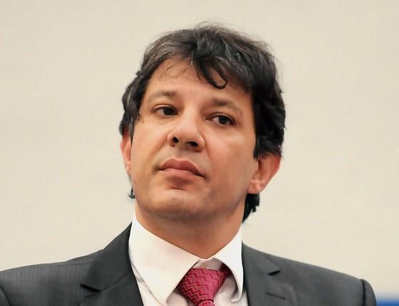 POSITIVO/NEGATIVO As notícias que o Ibope deu ao prefeito paulistano, Fernando Haddad (Foto: Luciano Bergamaschi/Futura Press/ Estadão Conteúdo)