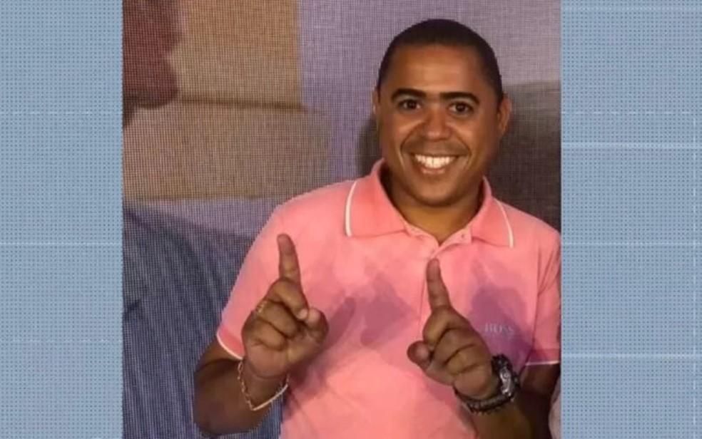 Vereador é morto a tiros em ataque a bar em Candeias  — Foto: Reprodução/TV Bahia