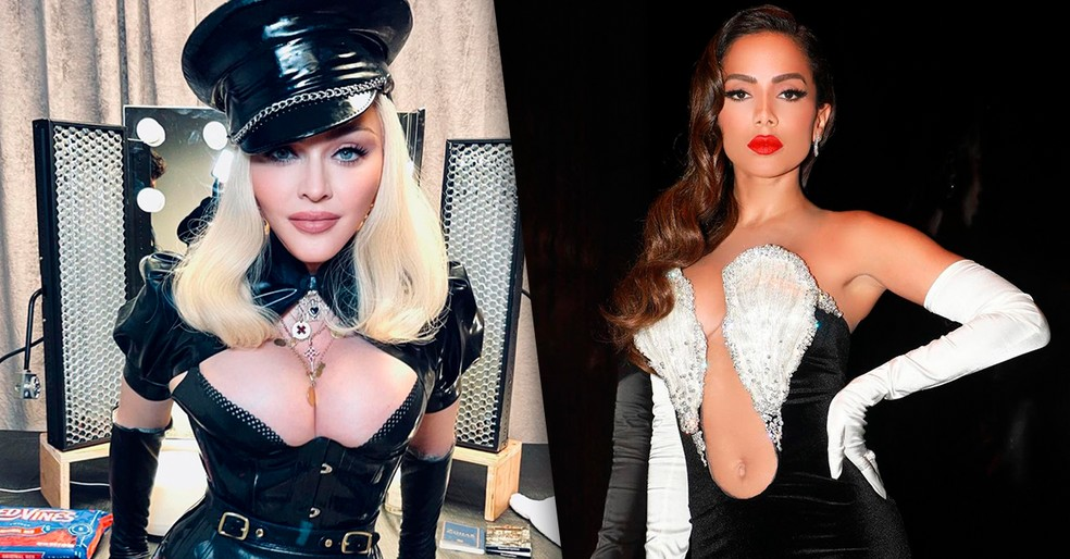 Anitta, Madonna e mais! Veja os momentos marcantes do VMA 2021 — Foto: Reprodução/Instagram