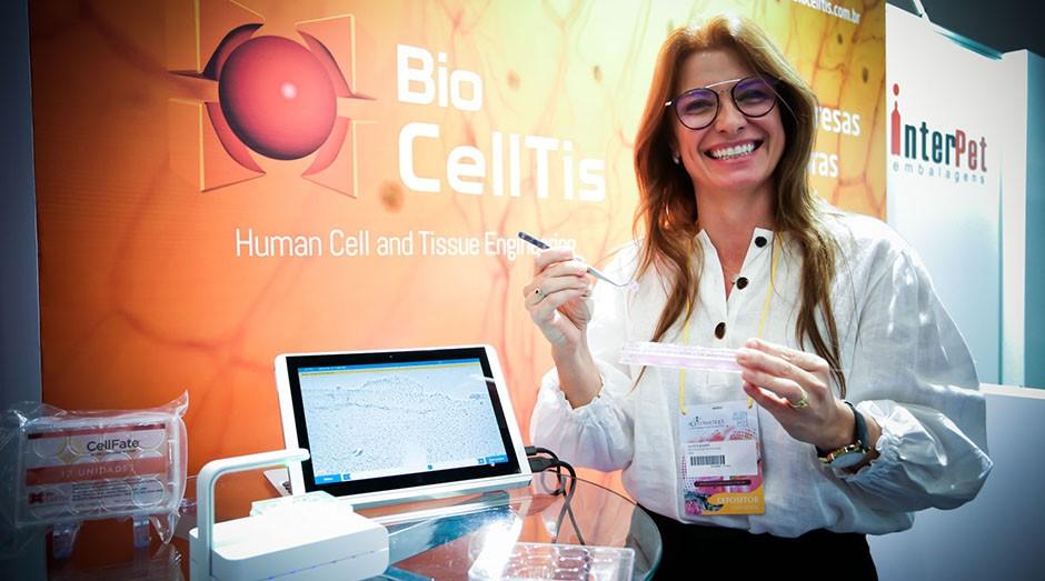 Janice Koepp, uma das fundadoras da Biocelltis Bioengenharia (Foto: Divulgação)