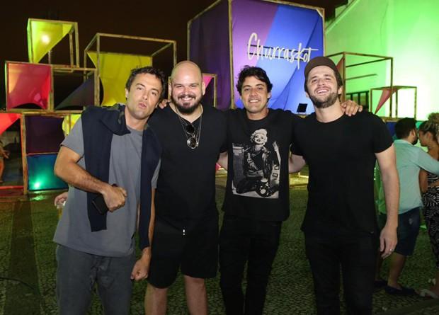 Kayky Brito, Guilherme Barros, Bruno de Luca e Gil Coelho (Foto: Reginaldo Teixeira/RT Fotografia/Divulgação)