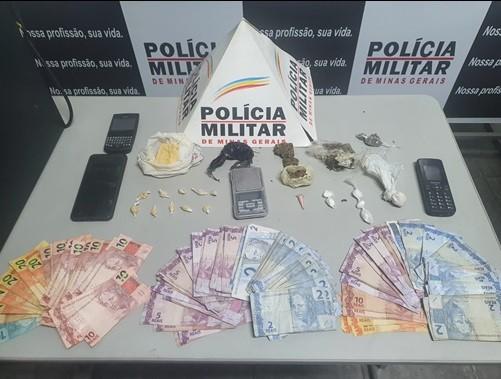 Jovens são presos por tráfico de drogas em Cataguases
