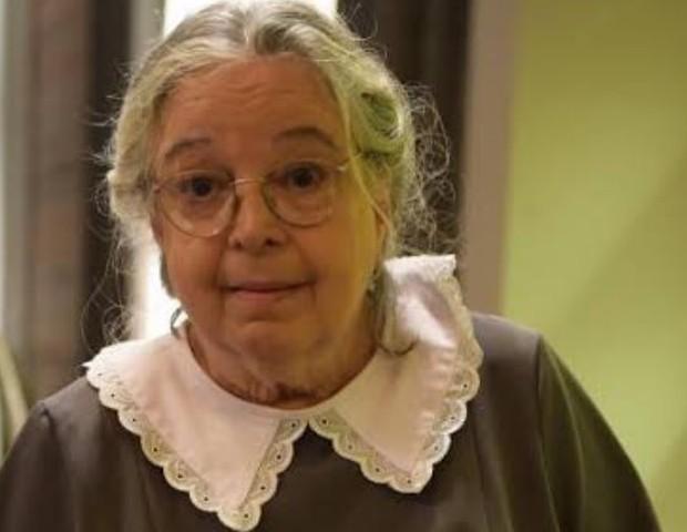 Camila Amado interpretou Tia Candoca em Éramos Seis, na TV Globo, entre 2019 e 2020 (Foto: Reprodução/Instagram)