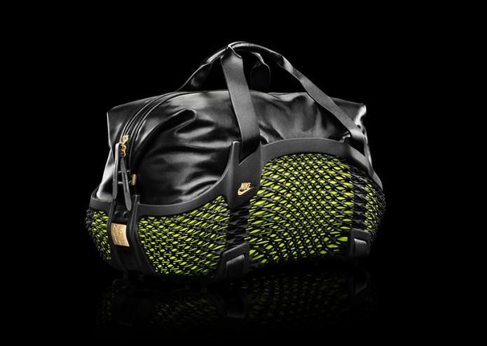 Bolsa utiliza couro e nylon e é inspirada em tênis da Nike (Foto: Divulgação/Nike)