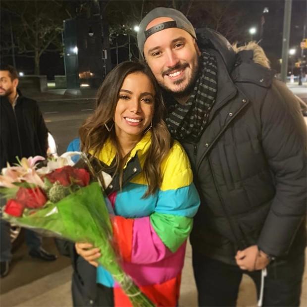 Anitta e Gabriel Siqueira (Foto: Reprodução/Instagram)