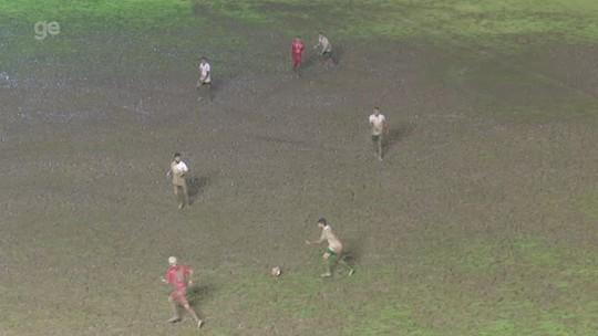 Futlama: veja as condições do gramado do Florestão durante a rodada dupla do Acreano