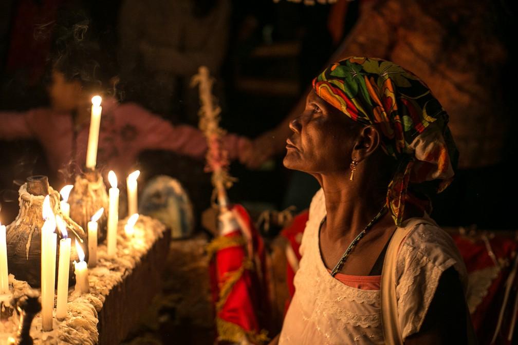 Exposição 'Banguê', em cartaz no DF, retata tradições de remanescentes quilombolas  (Foto: Weverson Paulino/Arquivo pessoal)