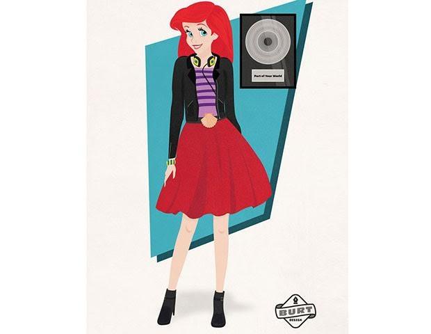Ariel, de A Pequena Sereia, ganhou diversos discos de platina e é compositora e produtora musical na sua própria gravadora, a Sete Mares Discos. (Foto: Reprodução / Matt Burt)