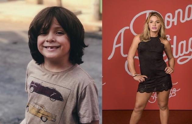 Rarisson, papel de Theo Almeida, passará por uma transição de gênero e aparecerá como Britney (Glamour Garcia) (Foto: TV Globo)