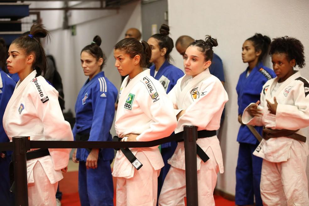 Sarah Menezes no Troféu Brasil interclubes (Foto: Mayara Ananias/CBJ)