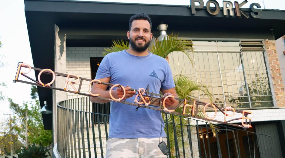 José Araujo Netto, fundador do Porks – Porco e Chope (Foto: Divulgação)