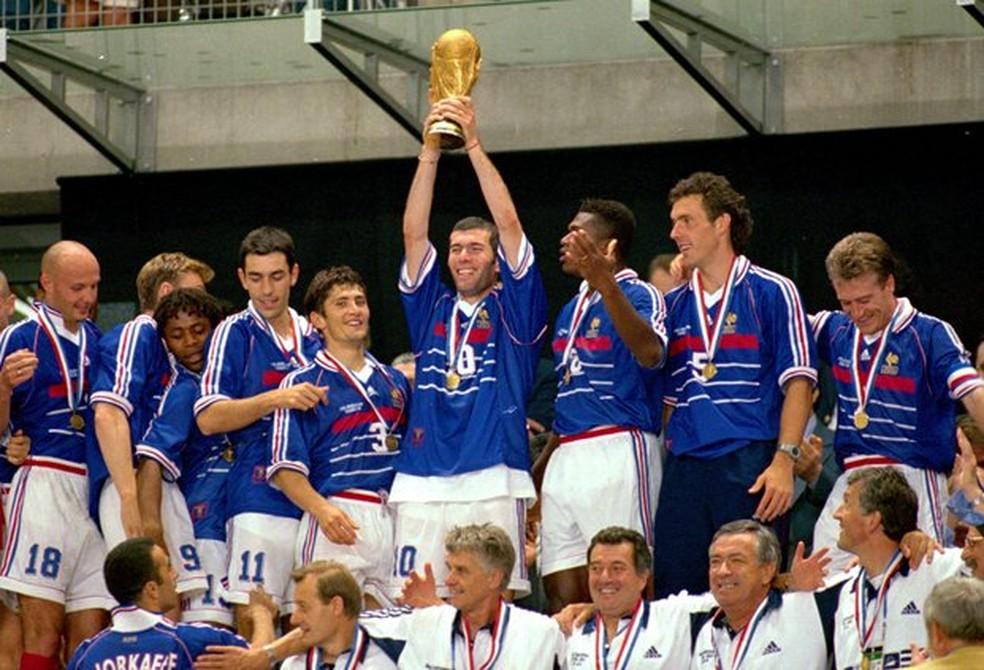França foi campeão mundial em 1998 (Foto: FFF)