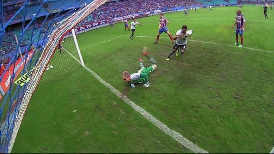 Os gols de Bahia 3 x 3 Botafogo pela 11ª rodada do Campeonato Brasileiro