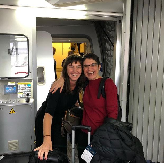 Glenda Kozlowski e Sandra Annemberg (Foto: Reprodução Instagram)
