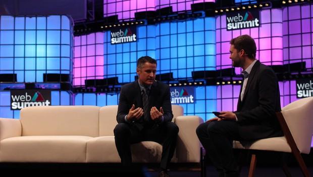 Brendan Kennedy, CEO da Tilray, no Web Summit 2018  (Foto: Felipe Maia)