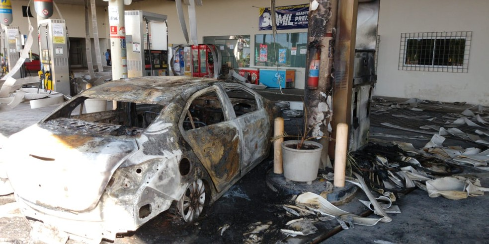 Ceará sofre onda de ataques desde 2 de janeiro — Foto: João Pedro Ribeiro