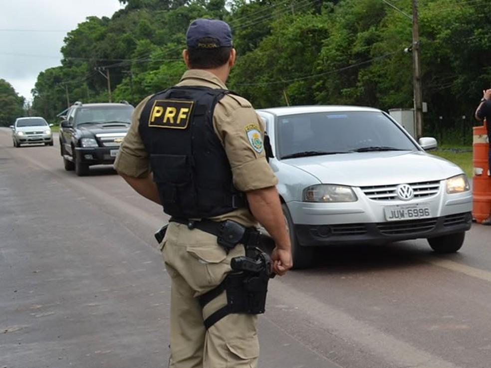 Polícia Rodoviária Federal (Foto: Divulgação/PRF)