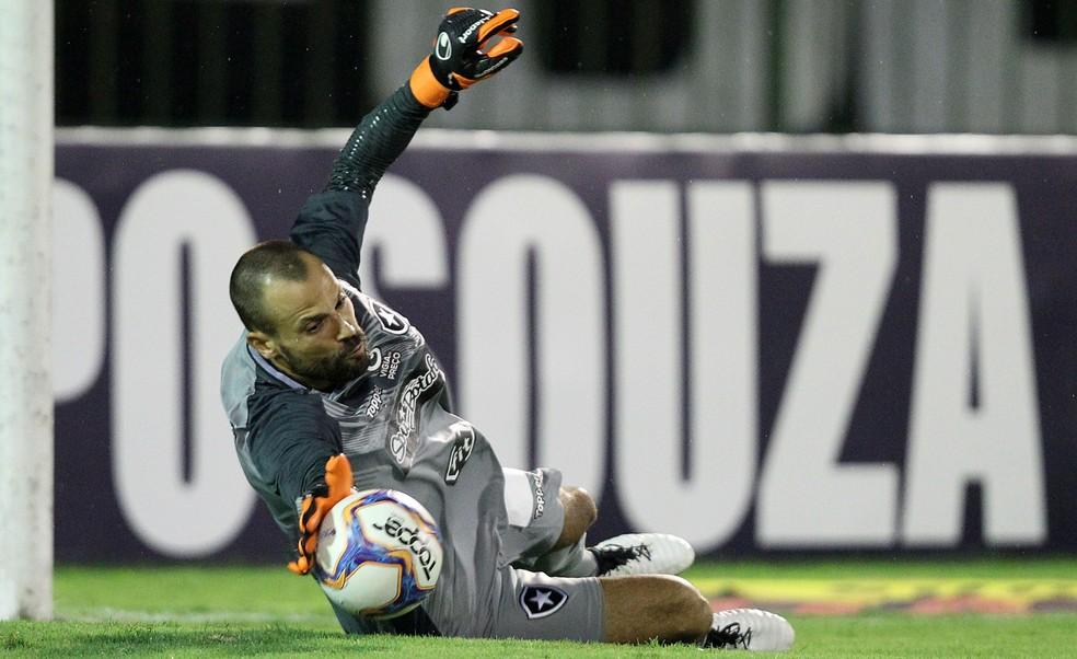 Diego Cavalieri fará a sua estreia no Brasileiro de 2019 — Foto: Vitor Silva/SSPress/Botafogo