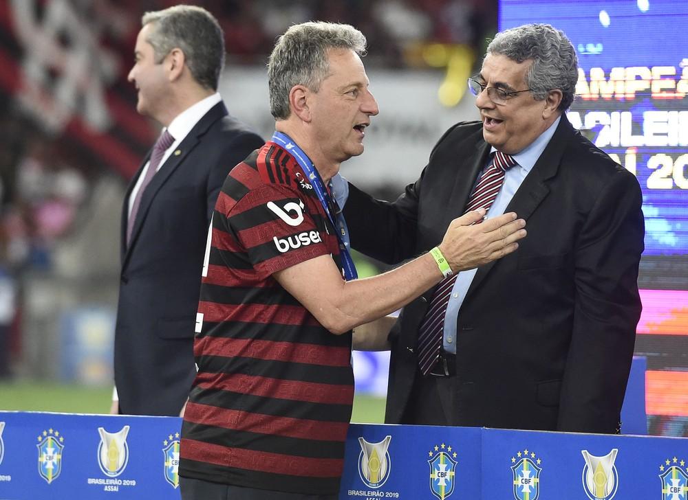 Após ano mágico, Landim diz que correu riscos: Ninguém pode ficar à frente do Flamengo pensando pequeno