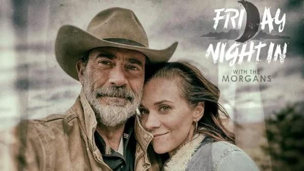 Jeffrey Dean Morgan e Hilarie Burton Morgan (Foto: Divulgação / AMC)