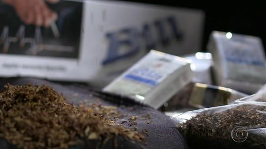 Grupos criminosos montam fábricas clandestinas de cigarros paraguaios no RS