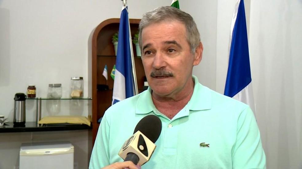 Prefeito de Linhares, Guerino Zanon — Foto: Reprodução/TV Gazeta