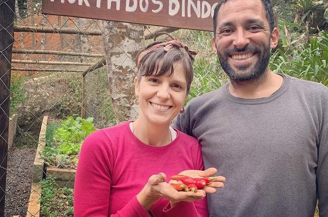 Georgiana Góes e João Portella (Foto: Reprodução)