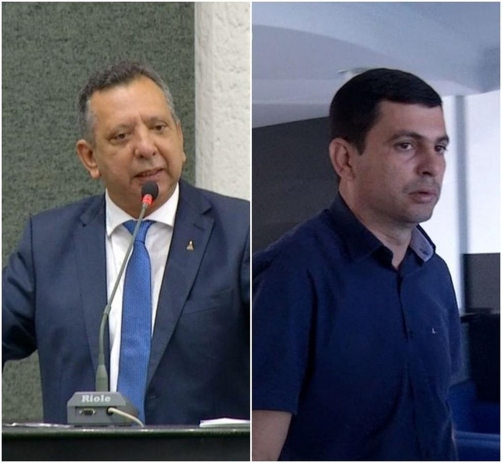 Deputado Antônio Andrade e o filho dele, Tony Andrade foram indiciados — Foto: Arte G1