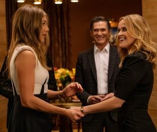 Jennifer Aniston, Billy Crudup e Reese Witherspoon em 'The morning show' | Karen Ballard/Apple TV+
