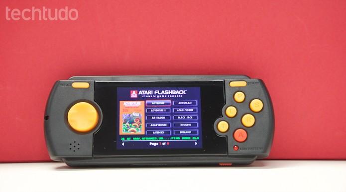 Atari Flashback Portátil (Foto: Amanda Rebelo / TechTudo)