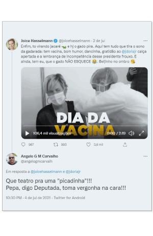 Post  do subtenente Angelo Giovani Martins Carvalho