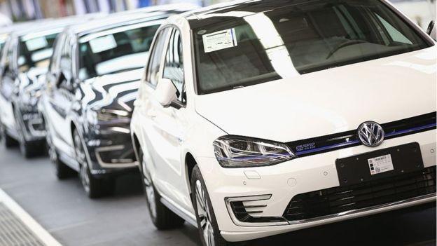 La menor producción de coches ha lastrado los datos económicos de Alemania en el segundo trimestre del año. (Foto: Getty Images via BBC News Brasil)