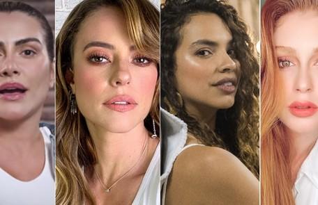 Cleo, Paolla Oliveira, Gabriela Moreyra e Marina Ruy Barbosa são algumas das vítimas Reprodução/Instagram