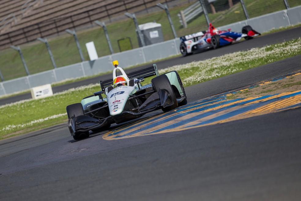 Pietro Fittipaldi vai correr na Fórmula Indy (Foto: Blank/Indycar)