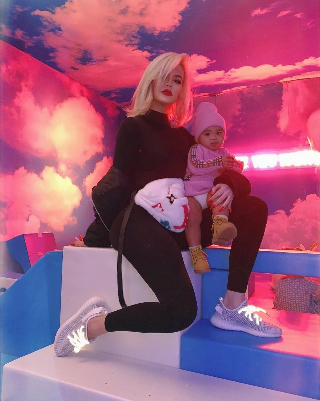 Khloe e sua filha, True (Foto: Reprodução/ Instagram)